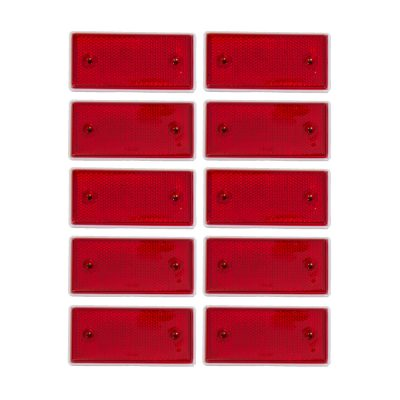 Auto Choice Direct - Accessories - Red Reflectors - Car Accessories UK