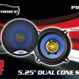 """Auto Choice Direct - Audio - 5.5"""" Dual Cone Speaker - Car Accessories UK"""