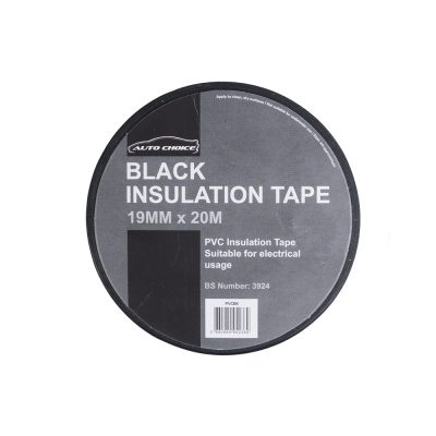 Auto Choice Direct - Tapes - Black PVC Insulation Tape - Car Accessories UK