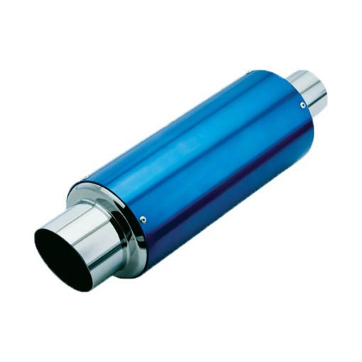 Auto Choice Direct - Exhaust Mufflers - Blue Exhaust Back Box - Car Accessories UK