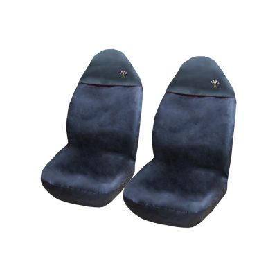 Auto Choice Direct - Seat Covers - Black Front Seat Covers - PM4 - Car Accessories UK