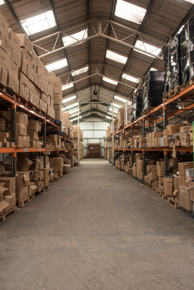 Auto Choice Direct - Warehouse Main Aisle - Car Accessories UK