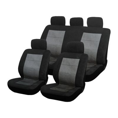 Auto Choice Direct - Seat Covers - 9pc Seat Cover Set - Car Accessories UK