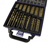 Auto Choice Direct - Clearance - 99Pc Titanium Coated HSS Drill Bit Set - Car Accessories UK