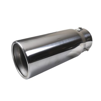 Auto Choice Direct - Exhaust Tips - Round Rolled Exhaust Tip - Car Accessories UK