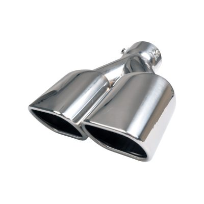 Auto Choice Direct - Exhaust Tips - Twin Rectangular Exhaust Tip - Car Accessories UK