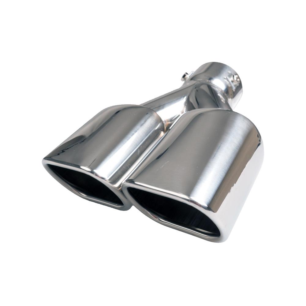 Twin Rectangular Exhaust Tip Pm 331 Auto Choice Direct