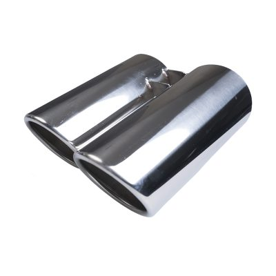Auto Choice Direct - Exhaust Tips - Double Circular Rolled Exhaust Tips - Car Accessories UK