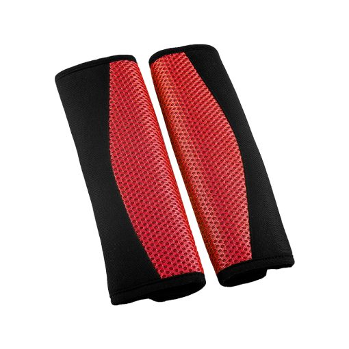 Auto Choice Direct - Red Seat Belt Pads - Car Accessories UK