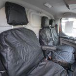 Premium Ford Transit Custom Leather Look Seat Covers – PMSC106