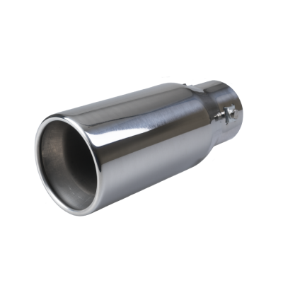 Auto Choice Direct - Exhaust Tips - Rolled Round Exhaust Tip - Car Accessories UK
