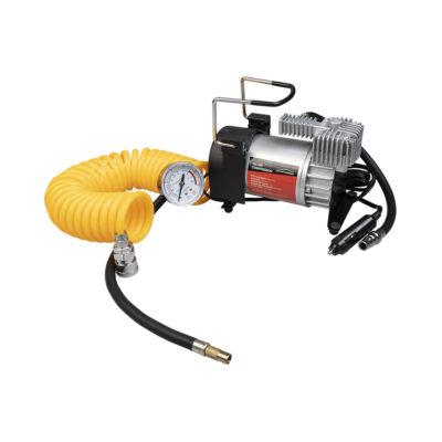 Auto Choice Direct - Compressors - 12v Metal Air Compressor Kit - Car Accessories UK