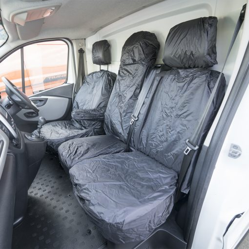 Auto Choice Direct - Seat Covers - Premium Vivaro/Trafic/Talento/NV300 Seat Covers - Car Accessories UK