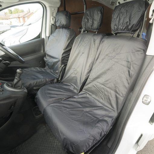 Auto Choice Direct - Seat Covers - Premium Berlingo/Partner Seat Covers - Car Accessories UK