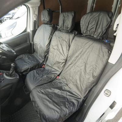 Auto Choice Direct - Seat Covers - Premium Leather Look Berlingo/Partner Seat Covers - Car Accessories UK