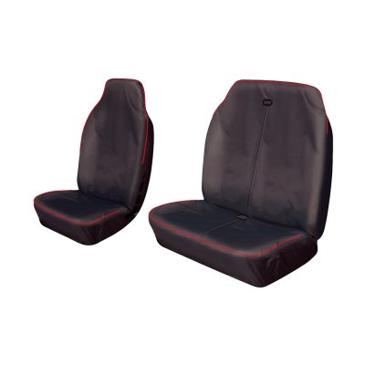 Auto Choice Direct - Premium Series - Van Seat Covers - Red Stripe - Car Accessories UK