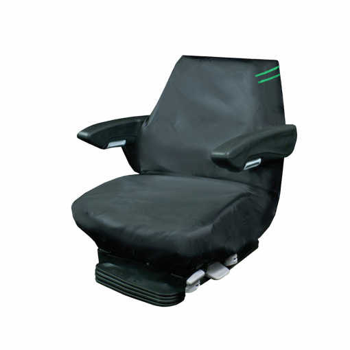 Auto Choice Direct - Premium Series - Large Tractor Seat Cover - Green Detailing - Car Accessories UK