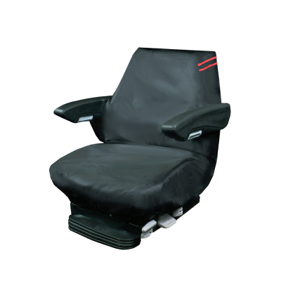 Auto Choice Direct - Premium Series - Tractor Seat Cover - Red Detailing - Car Accessories UK