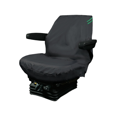 Auto Choice Direct - Premium Series - Tractor Seat Cover - Green Detailing - Car Accessories UK