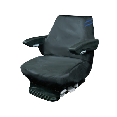 Auto Choice Direct - Premium Series - Tractor Seat Cover - Blue Detailing - Car Accessories UK