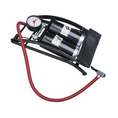 Auto Choice Direct - Foot Pumps - Double Barrel Foot Pump - Car Accessories UK