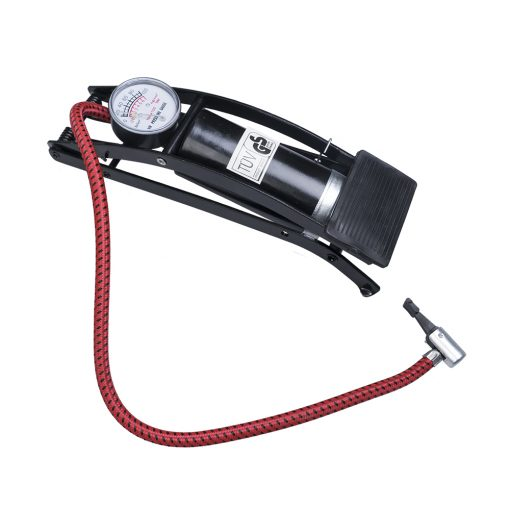 Auto Choice Direct - Foot Pumps - Single Barrel Foot Pump - Car Accessories UK