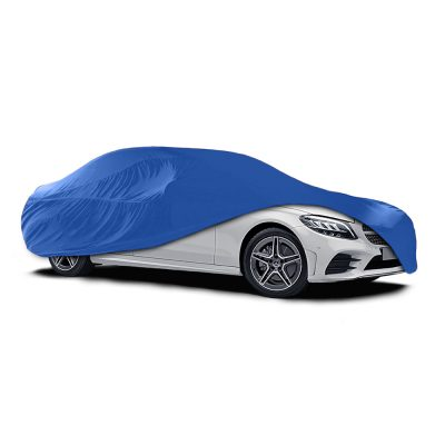 Auto Choice Direct - Car Covers - Large Blue Indoor Car Cover - Car Accessories UK