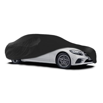 Auto Choice Direct - Car Covers - Large Black Indoor Car Cover - Car Accessories UK