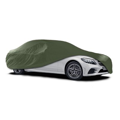 Auto Choice Direct - Car Covers - Large Green Indoor Car Cover - Car Accessories UK