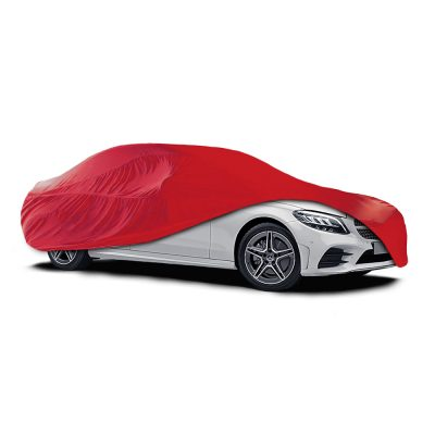 Auto Choice Direct - Car Covers - Large Red Indoor Car Cover - Car Accessories UK
