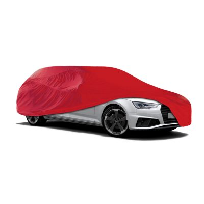 Auto Choice Direct - Car Covers - Extra Large Red Indoor Car Cover - Car Accessories UK
