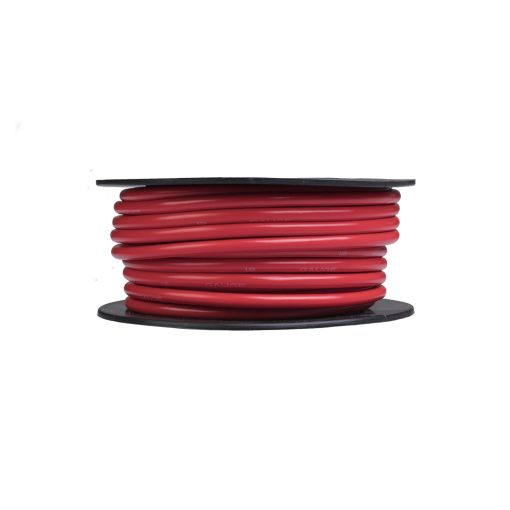 Auto Choice Direct - Cable - 12 AWG Copper Cable Red - Car Accessories UK