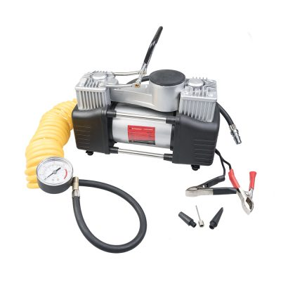 Auto Choice Direct - Compressors - 12v Twin Piston Air Compressor - Car Accessories UK