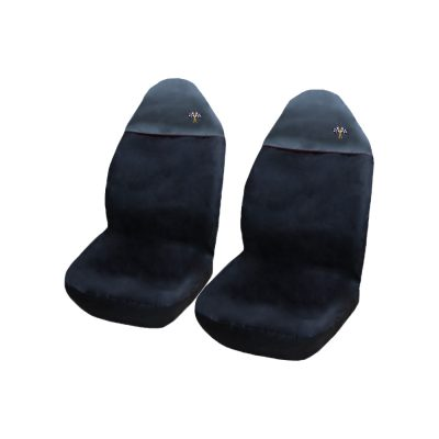 Auto Choice Direct - Seat Covers - Large Black Top Seat Cover - Car Accessories UK