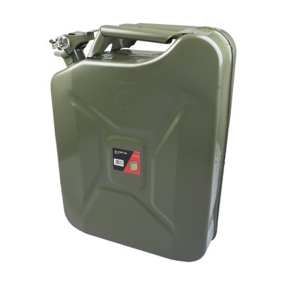 Auto Choice Direct - 20L Metal Jerry Can - Car Accessories UK