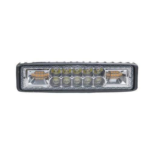 Auto Choice Direct - LED Lighting - 16 LED White/Amber Work Light - Car Accessories UK