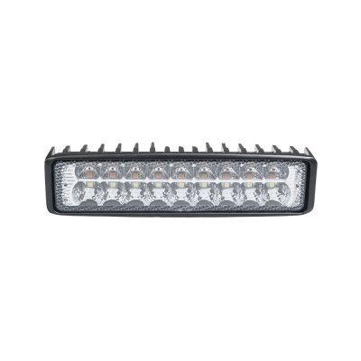 Auto Choice Direct - LED Lighting - 18 LED White/Amber Work Light - Car Accessories UK