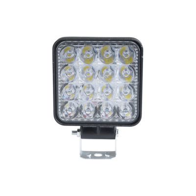 Auto Choice Direct - LED Lighting - 16 LED Square Spot Light - Car Accessories UK