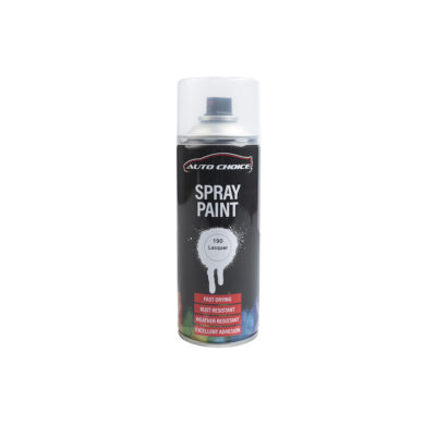 Auto Choice Direct - Clear Lacquer Spray Paint - Car Accessories UK
