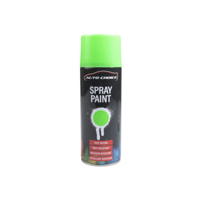 Auto Choice Direct - Fluorescent Green Spray Paint - Car Accessories UK