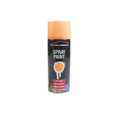 Auto Choice Direct - Fluorescent Orange Spray Paint - Car Accessories UK