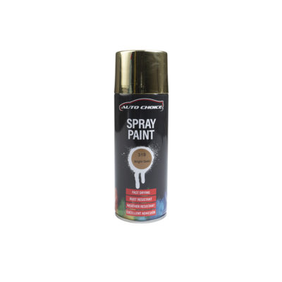 Auto Choice Direct - Spray Paints - Gold Spray Paint - Car Accessories UK