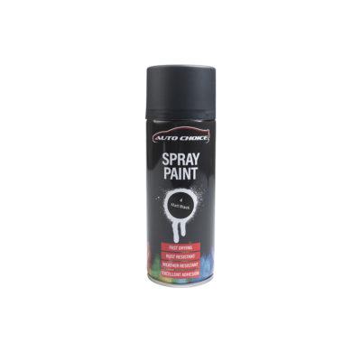 Auto Choice Direct - Spray Paints - Matt Black Spray Paint - Car Accessories UK