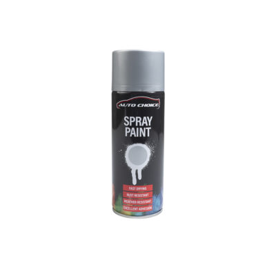 Auto Choice Direct - Spray Paints - Silver Wheel Spray Paint - Car Accessories UK