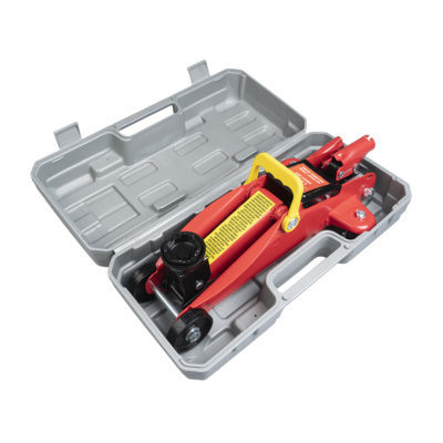 Auto Choice Direct - Car Jacks - 1.5 Ton Trolley Jack in Blow Moulded Case - Car Accessories UK