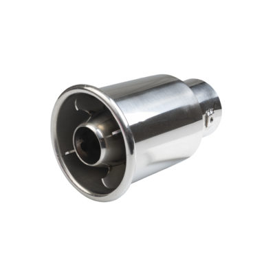 Auto Choice Direct - Exhaust Tips - Circular Turbine Style Exhaust Tip - Car Accessories UK