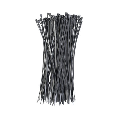 Auto Choice Direct - Cable Ties - 200mm x 2.5mm Cable Ties (Pack of 100) - Car Accessories UK