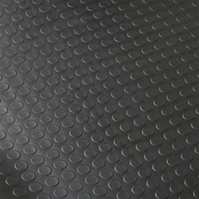 Auto Choice Direct - Mats - Heavy Duty Coin Top Rubber Matting - 1.8m x 3m - Car Accessories UK