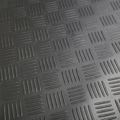 Auto Choice Direct - Mats - Heavy Duty Checker Plate Rubber Matting - 1.8m x 3m - Car Accessories UK